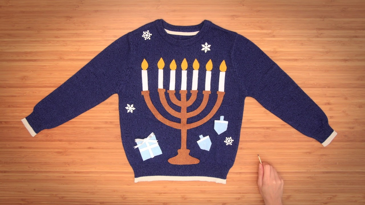 3 DIY Ugly Christmas Sweaters