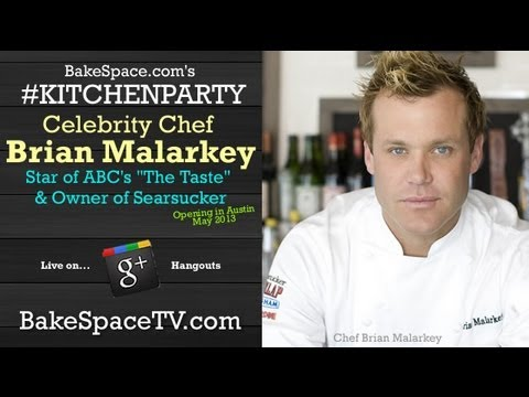 Celebrity Chef Brian Malarkey on #KitchenParty