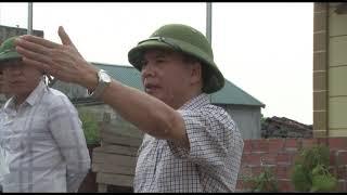 Bí thư Thành ủy Trần Văn Lâm kiểm tra tiến độ thi công một số công trình, dự án