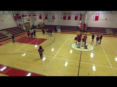Hingham High School vs. Plymouth North Varsity Mens' Basketball