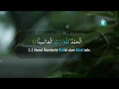 Fatiha Suresi - Nasser Al Qatami Kur'an-ı Kerim Tilaveti