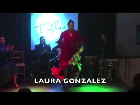 Laura Gonzalez no Tablao Perla Flamenca