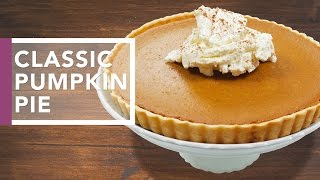 How to Make Pumpkin Pie | Thanksgiving Dinner 2016 by The Domestic Geek