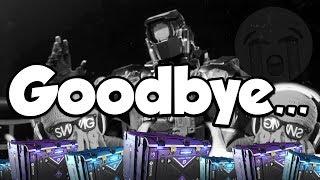 Goodbye, Infinite Warfare...