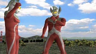 Video Ultraman Taro & Ultra Seven TAG Team Mode ★Play ウルトラマン FE3 MP3, 3GP, MP4, WEBM, AVI, FLV Maret 2019