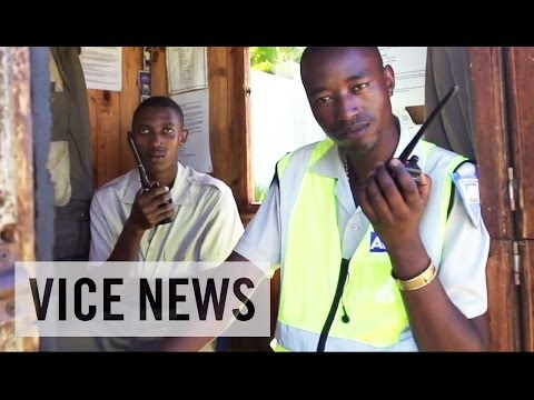 Africa - Subscribe to VICE News here: http://bit.ly/Subscribe-to-VICE-News The high walls, electric fences, and private security guards surrounding South Africa's res...