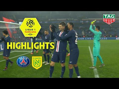 Paris Saint-Germain - FC Nantes ( 2-0 ) - Highlights - (PARIS - FCN) / 2019-20
