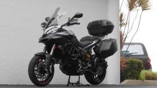 6. 2013 Ducati Multistrada 1200 S Granturismo First Ride Video! Gulf Coast Motorcycles!