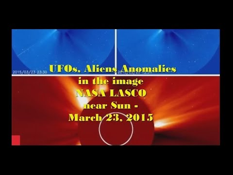 UFOs, Aliens Anomalies near Sun in image NASA LASCO – March 23, 2015
