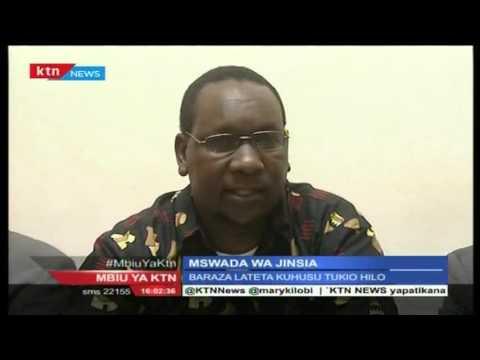 Mbiu ya KTN 2nd May 2016 Mswada wa Jinsia
