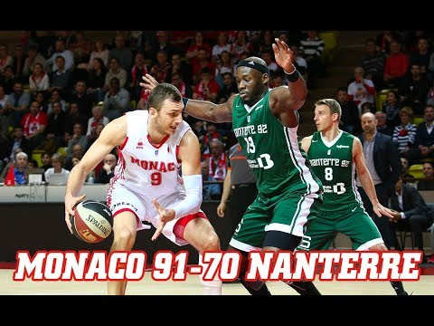 Jeep Elite — Monaco 91 - 70 Nanterre — Highlights