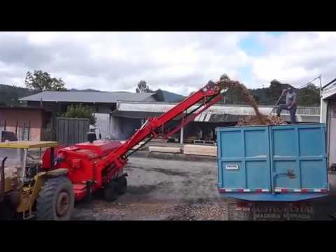 Picador Florestal RAPTOR 700 Com motor CUMMINS 285 HP