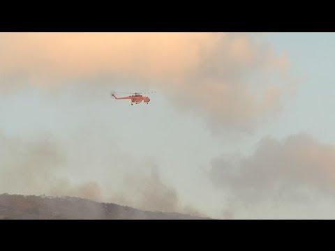 Σε ύφεση η φωτιά στη Ν. Μάκρη