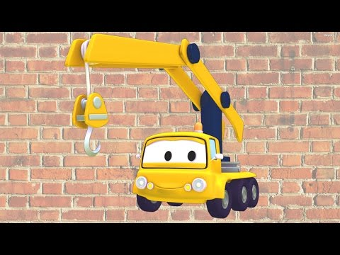 Charlie the Crane and friends in Car City: Tom the Tow Truck, the Car Patrol - Trucks cartoons