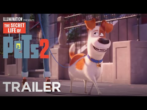 The First Trailer for The Secret Life Of Pets 2