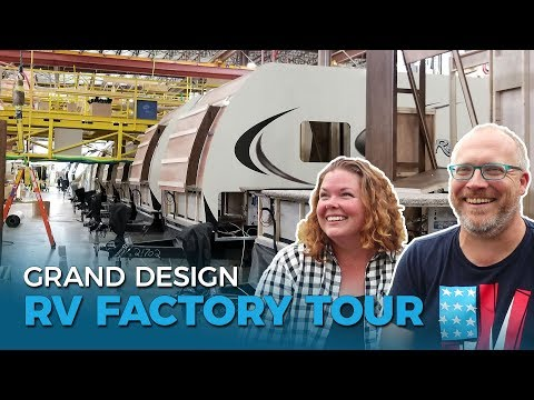 How Our RV Was Made: Grand Design Reflection 312BHTS Factory Tour | Ep. 52