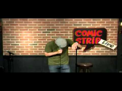 Comedian Christian Finnegan At Comic Strip Live
