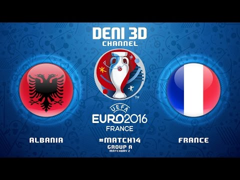 FIFA 16 EURO-2016 | #match14 | Group A matchday 2 | Albania vs France