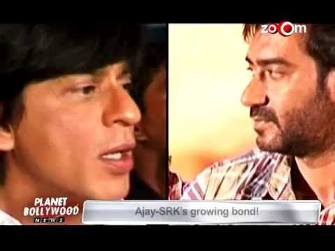 Ajay-Shah Rukh friends?