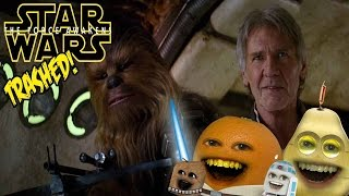 Nonton Annoying Orange - STAR WARS: THE FORCE AWAKENS TRAILER Trashed 2!! Film Subtitle Indonesia Streaming Movie Download