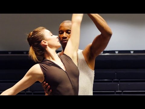 Watch: Charlotte Edmonds rehearses her new short film with Royal Ballet dancers