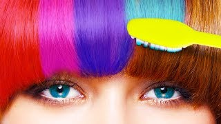 Video 25 HAIR HACKS YOU'LL WANT TO TRY RIGHT NOW MP3, 3GP, MP4, WEBM, AVI, FLV November 2018