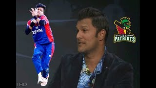 Sandeep Lamichhane : West Indies Captain Darren Ganga Talking About Sandeep After CPL 2018 Draft