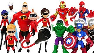 Video Mosters appeared! The Incredibles 2 and Marvel Avengers Hulk, Spider Man! Go! - DuDuPopTOY MP3, 3GP, MP4, WEBM, AVI, FLV September 2018