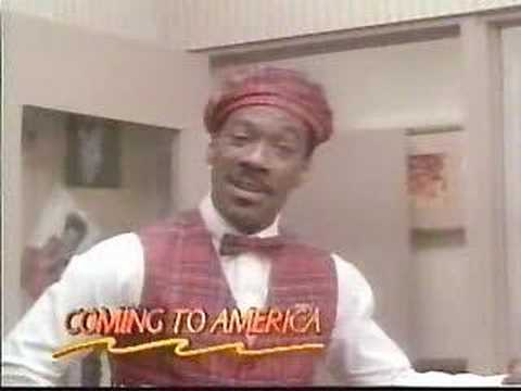 Coming To America trailer
