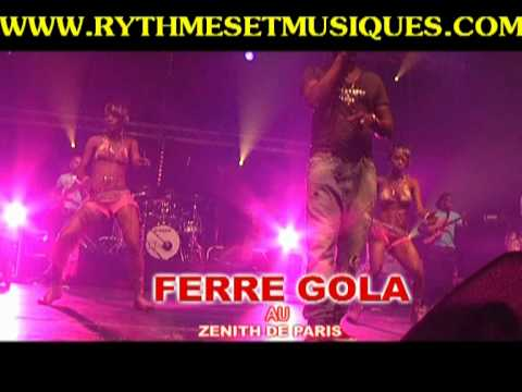 FERRE GOLA AU ZENITH DE PARIS
