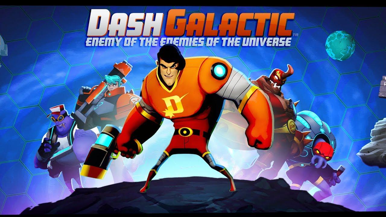 Top-Down Co-Op Shooter 'Dash Galactic' Enters Open Beta on Google Play