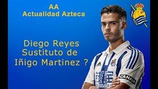 La Salida Inminente de Iñigo Martinez , obliga a la Real Sociedad a buscar un nuevo central.El escogido Diego Reyes