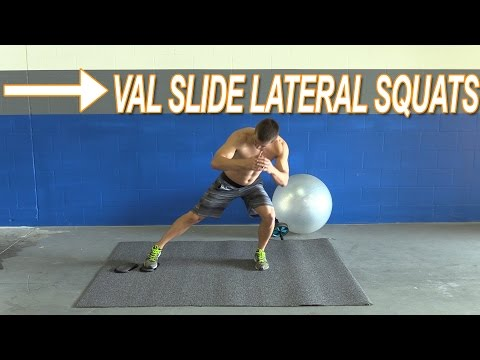 How To Do Val Slide Lateral Lunges aka Shuffle Squats