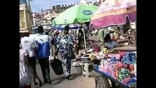 Cape Coast Ghana  city images : Walk Along Market Street in Cape Coast Ghana