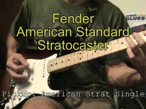 Electric Guitar Tone Comparison