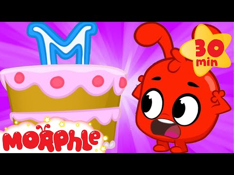 Morphle And The Cake - My Magic Pet Morphle | Cartoons For Kids | Morphle TV | Mila and Morphle