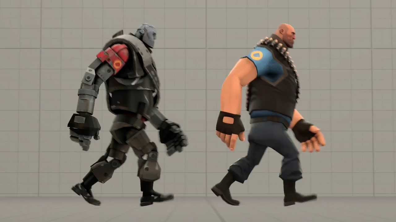 Heavy Man walk cycle - Animation by Hypo