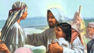 Jesus Christ Blesses The Children