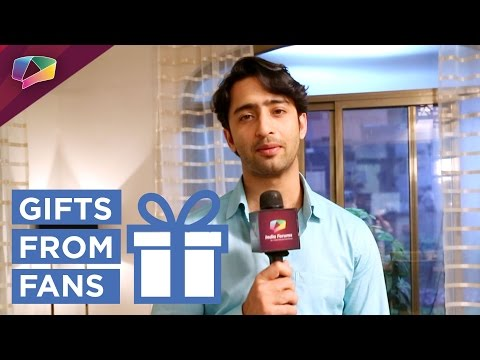 Shaheer Sheikh aka Dev Dixit receives gifts from h