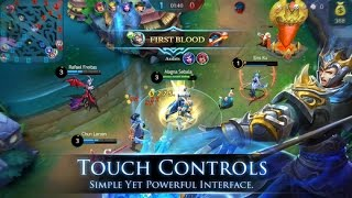 Game Terbaik untuk IOS Mobile Legends Bang Bang [Malaysia] - You Must Get iT Now .. download for IOS now.. http://goo.gl/WQYJdWJoin your friends in a brand new 5v5 MOBA showdown against real human opponents, Mobile Legends! Choose your favorite heroes and build the perfect team with your comrades-in-arms! 10-second matchmaking, 10-minute battles. Laning, jungling, tower rushing, team battles, all the fun of PC MOBAs and action games in the palm of your hand! Feed your eSports spirit!Mobile Legends, 2016's brand new mobile eSports masterpiece. Shatter your opponents with the touch of your finger and claim the crown of strongest Challenger!Your phone thirsts for battle!Features: 1. Classic MOBA Maps, 5v5 Battles Real-time 5v5 battles against real opponents. Fight over 3 lanes to take the enemy's tower. 4 jungle areas. 18 defense towers. 2 Wild Bosses. Complete reproductions of classic MOBA maps. Full-on 5v5, Human vs. Human battles. A triumphant return to genuine MOBA gameplay.2. Win with Teamwork & Strategy Block damage, control the enemy, and heal teammates! Choose from Tanks, Mages, Marksmen, Assassins, Supports, etc. to anchor your team or be match MVP! New heroes are constantly being released!3. Fair Fights, Carry Your Team to Victory Just like classic MOBAs, there is no hero training or paying for stats. Winners and losers are decided based on skill and ability on this fair and balanced platform for competitive gaming. Play to Win, not Pay to Win.4. Simple Controls, Easy to Master With a virtual joystick on the left and skill buttons on the right, 2 fingers are all you need to become a master! Autolock and target sifting allow you to last hit to your heart's content. Never miss! And a convenient tap-to-equip system lets you focus on the thrill of battle!5. 10 Second Matchmaking, 10 Minute Matches Matchmaking only takes 10 seconds, and battles last 10 minutes, glossing over the quiet early-game leveling up and jumping right into intense battles. Less boring waiti