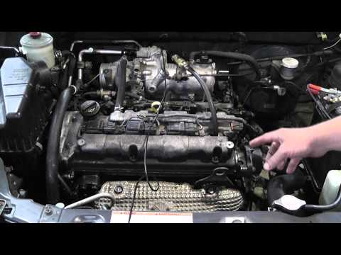 How to check for a jumped timing chain or belt (видео)