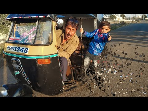 छोटू रिक्शा वाला | CHOTU RIKSHA WALA | Khandesh Hindi Comedy Video | Chotu Dada Comedy Video