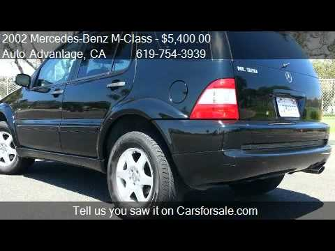 2002 Mercedes-Benz M-Class ML320 - for sale in San Diego, CA