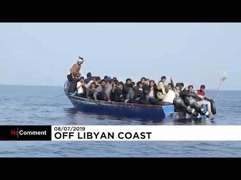 Διάσωση μεταναστών ανοικτά της Λιβύης