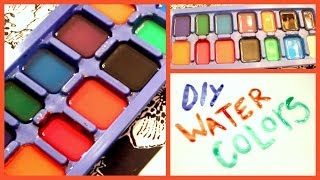 DIY Water Colors! - YouTube