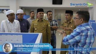 Bupati dan Wakil Bupati Aceh Besar Kunjungi Serambi
