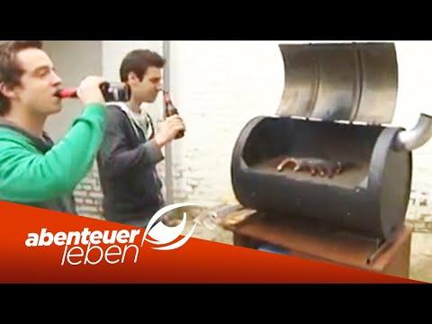 Einfach und günstig selber bauen: Der Fass-Grill-Smoker (2/2) | Abenteuer Leben