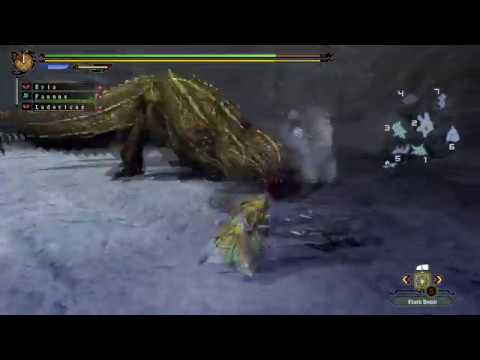MH3U Old Hunts: High-Rank Deviljho Hunt