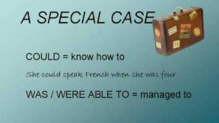Can, Could and Be Able To English lesson