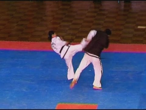 INCREDIBLE: Martial arts masters at the Taekwondo World Championships
